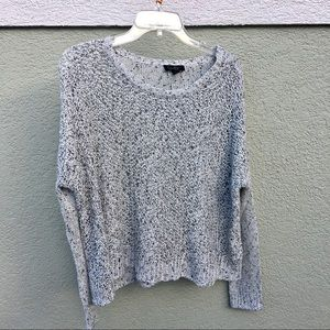 Jessica Simpson loose fitting knitted sweater